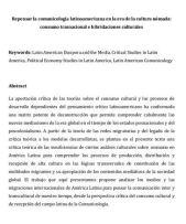 Repensar la comunicología latinoamericana