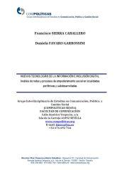 francisco sierra, ciespal, comunicacion, nuevas tecnologias informacion