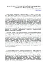 francisco sierra, ciespal, comunicacion, universidad y comunicacion