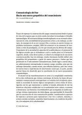 hacia comunicologia del sur, francisco sierra, comunicacion, ciespal