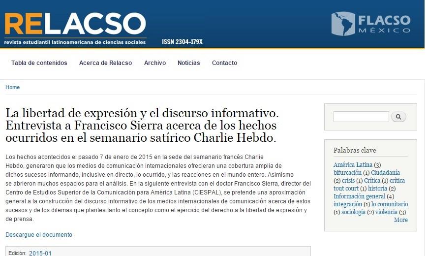 RELACSO-FLACSO-Francisco-Sierra