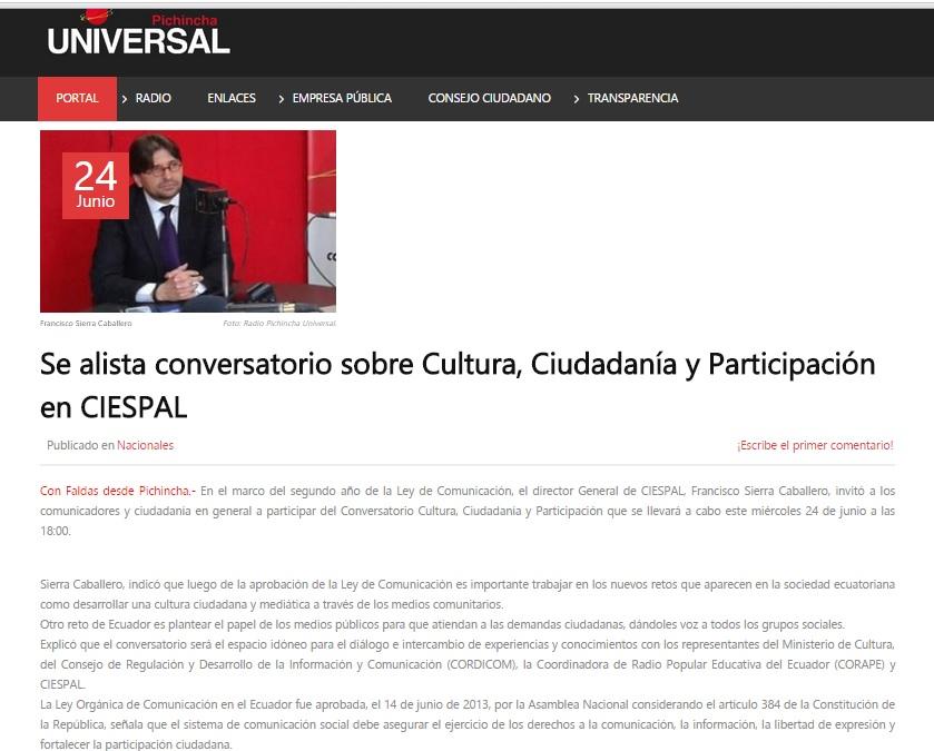 Francisco_Sierra_Radio_Pichincha