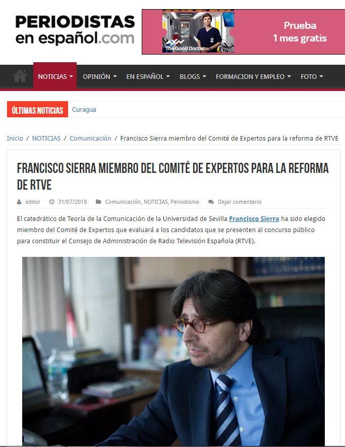 periodistas en español francisco sierra rtve