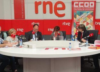 Francisco Sierra en el debate sobre el futuro de RTVE